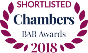 Chambers UK Bar Awards 2018