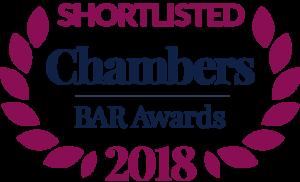 Chambers UK Bar Awards 2018