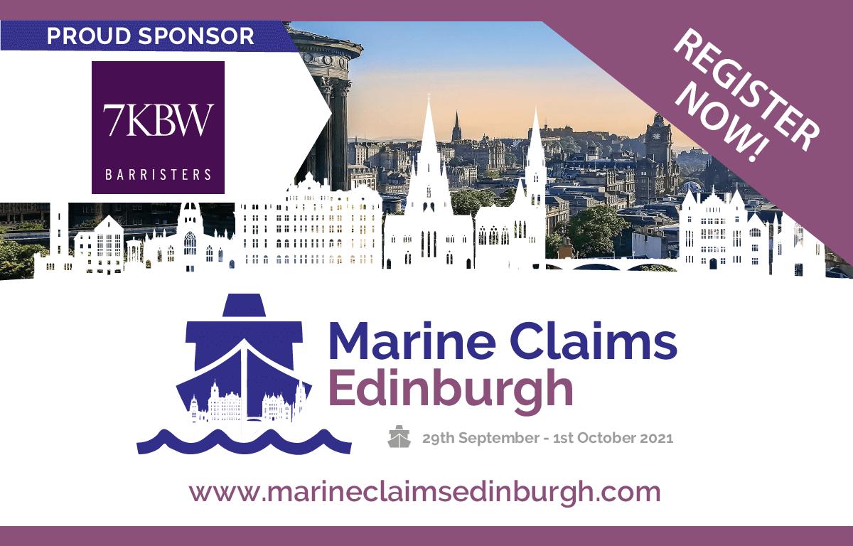 7KBW sponsors Marine Claims Edinburgh