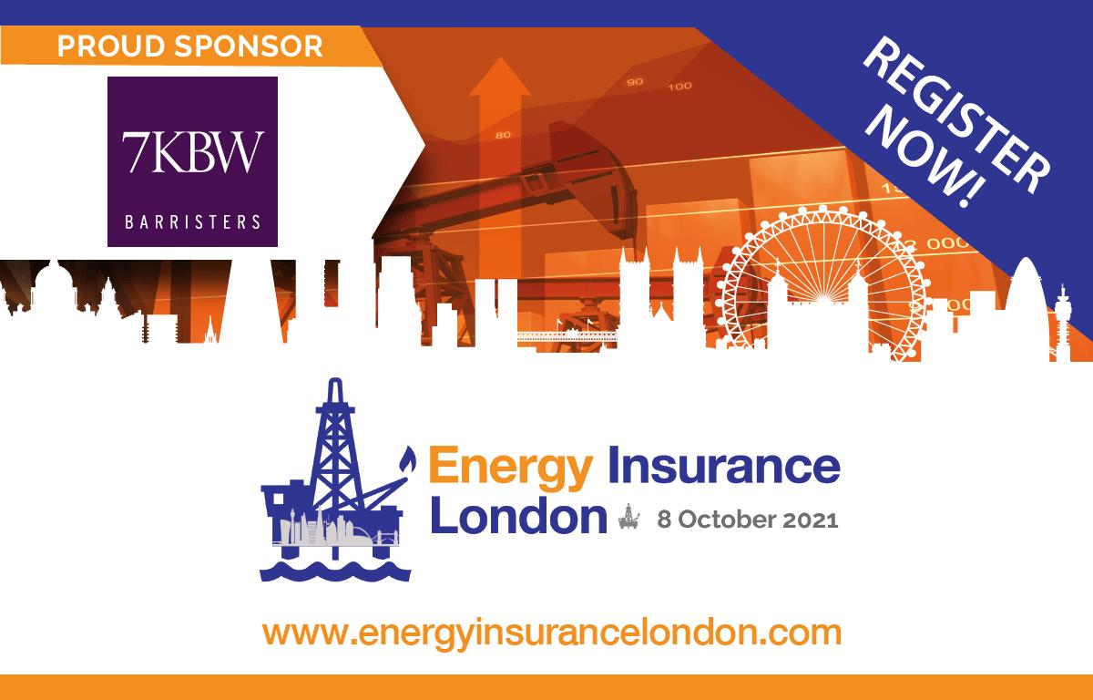 7KBW sponsors Energy Insurance London