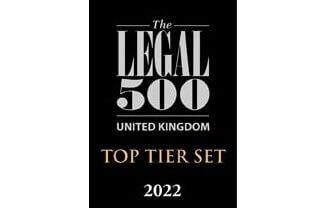 7KBW ranked as a TOP-TIER Set in the latest Legal 500 2022